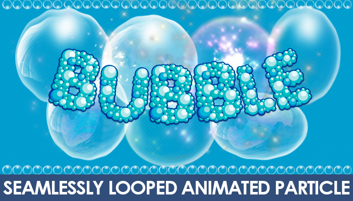 2D Bubble Animations