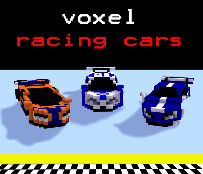 Voxel Racing Cars