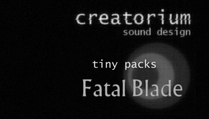 Creatorium tinypacks – Fatal Blade
