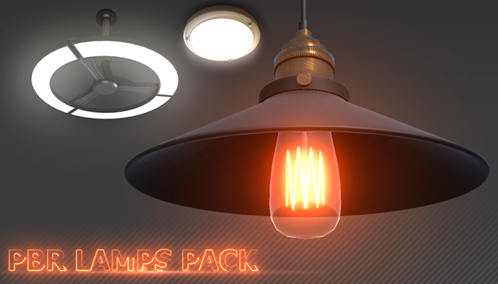 PBR Lamps Pack