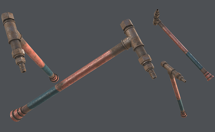 Pipe Weapon PBR