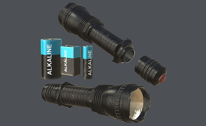 Realistic Flashlight