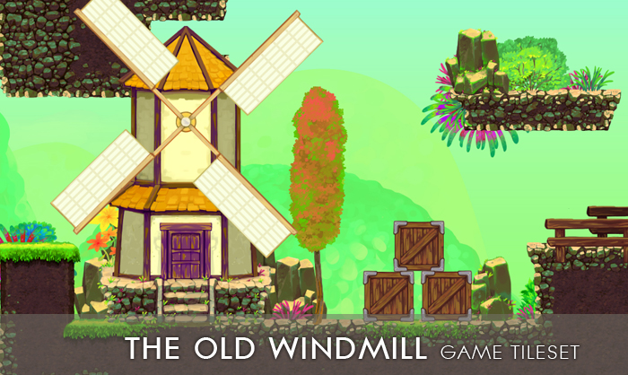 The Old Windmill – Game Tileset