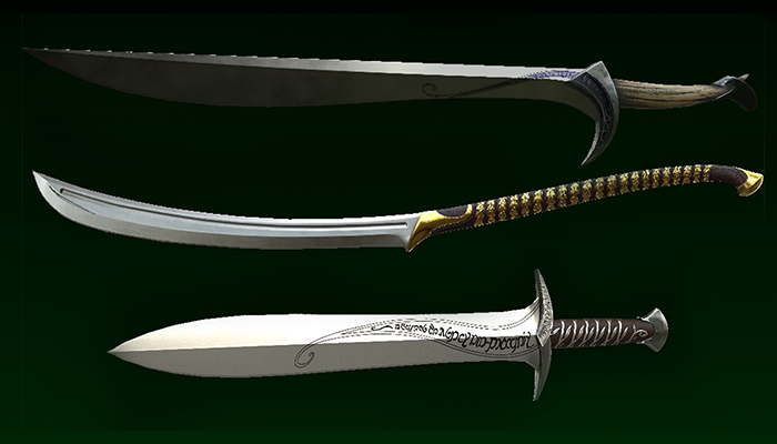 Elvish Swords Pack