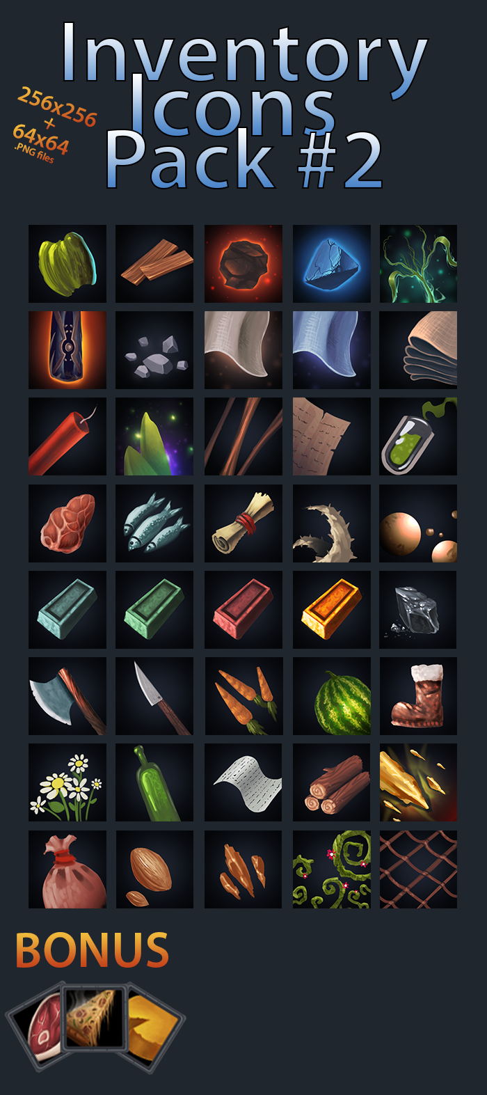 Inventory Icons Pack 2