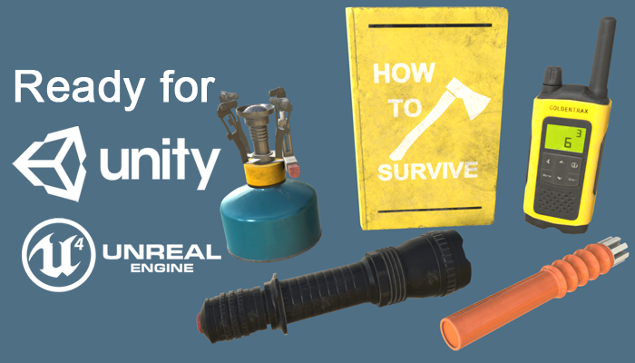 Survival Realistic Props Pack