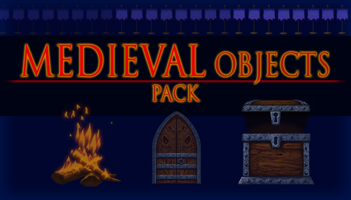 Medieval Objects Pack