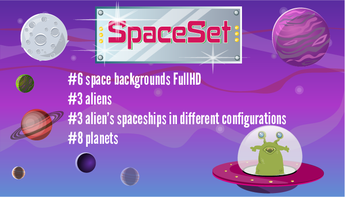 Space set – build your own space