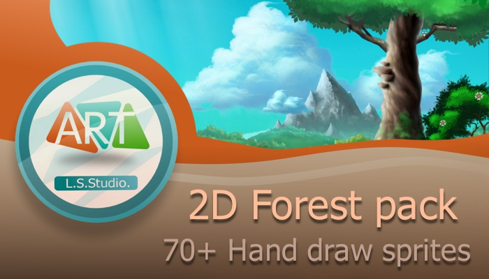 2D Forest pack