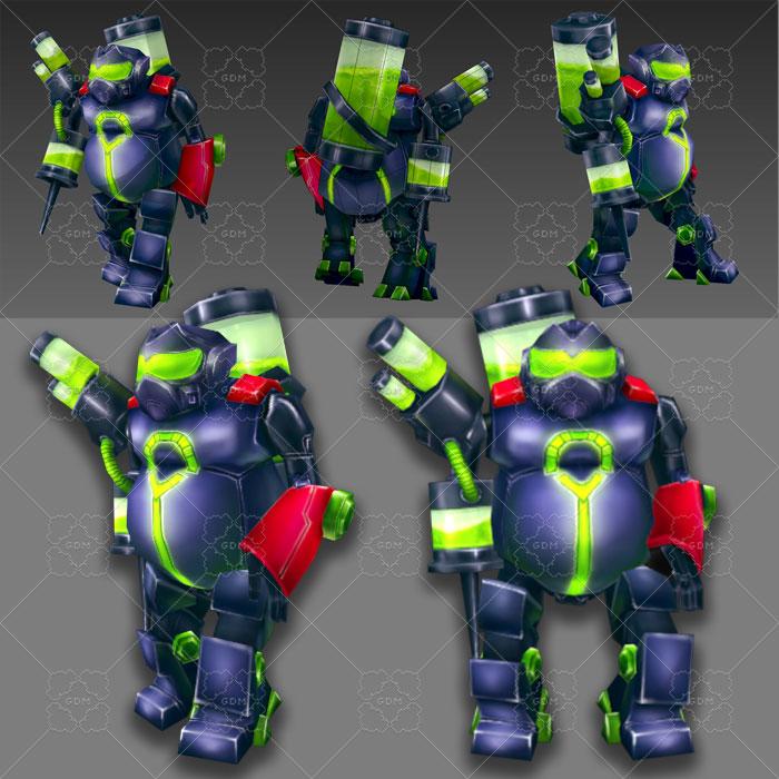 Robots Piston