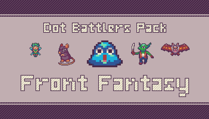 Dot Battlers Pack: Front Fantasy