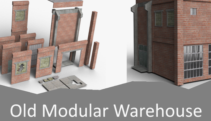 Old Modular Warehouse