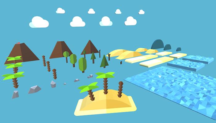 Universal 2D / 2.5D / 3D Islands Pack