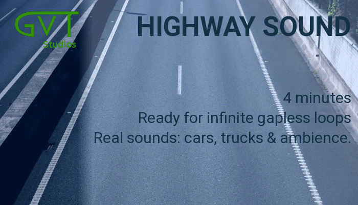 Highway sound