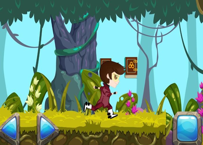 2D hero player character