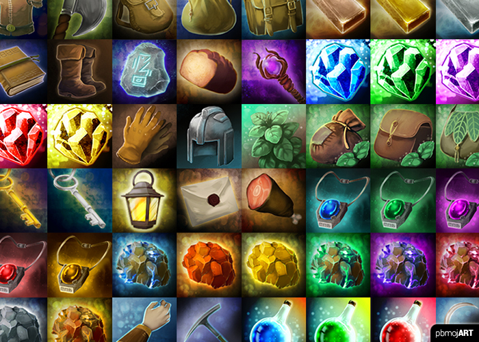 Fantasy RPG Icon Set