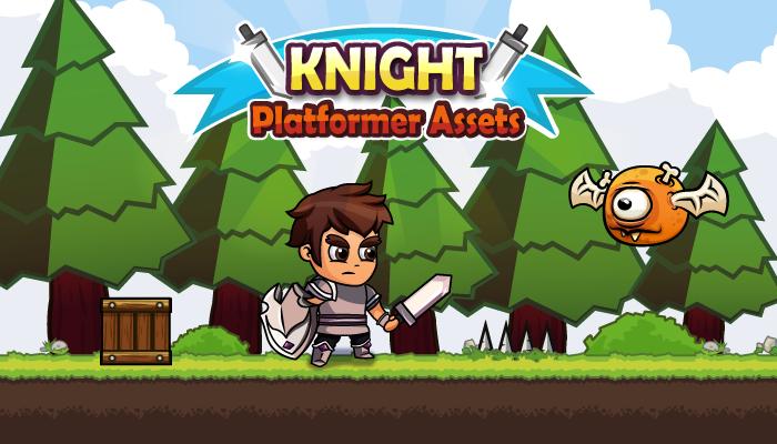 Knight Platformer Assets