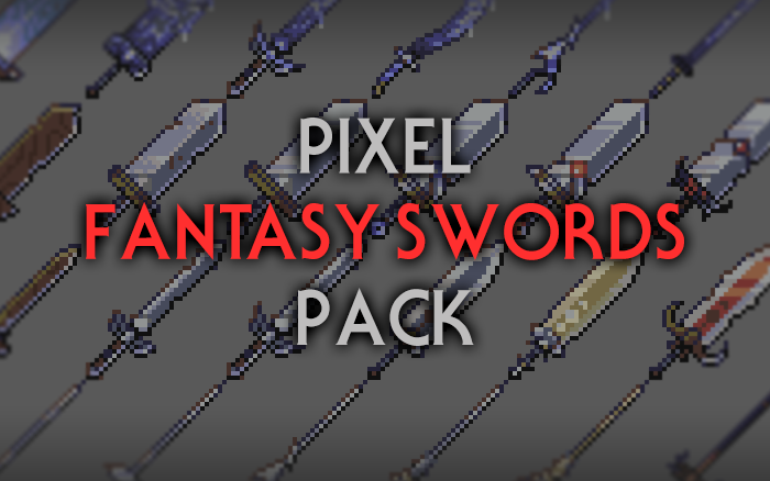 Fantasy Swords – RPG Inventory Icons