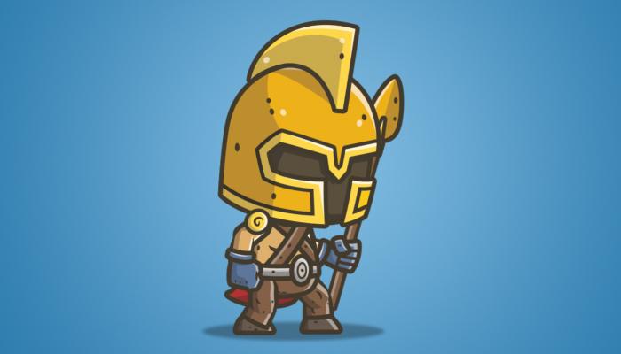 Chibi Knight 04 – The Gladiator