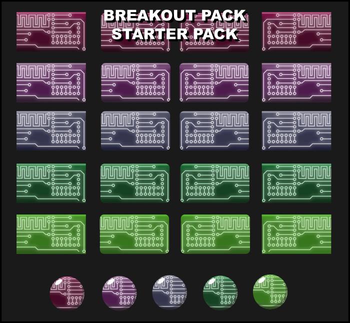 Sci Fi Breakout Starter Pack