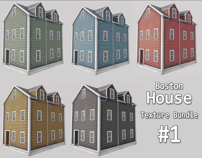 Boston Houses Bundle 01
