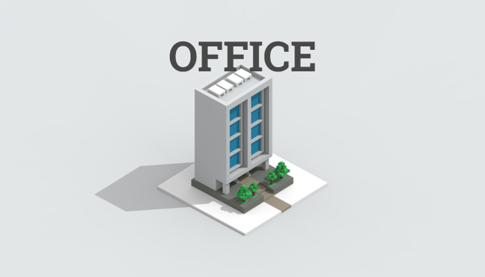 Low-poly office