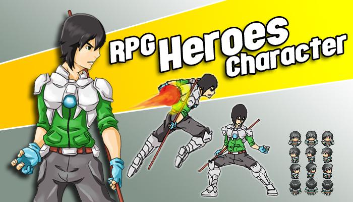 RPG Heroes Character