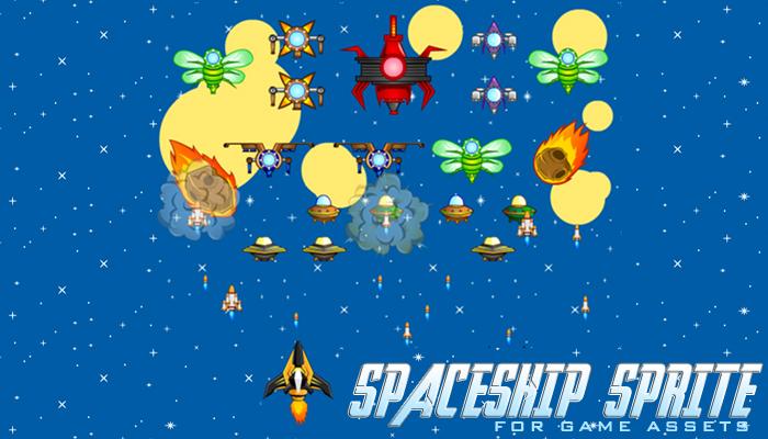 Spaceship 1 Sprites