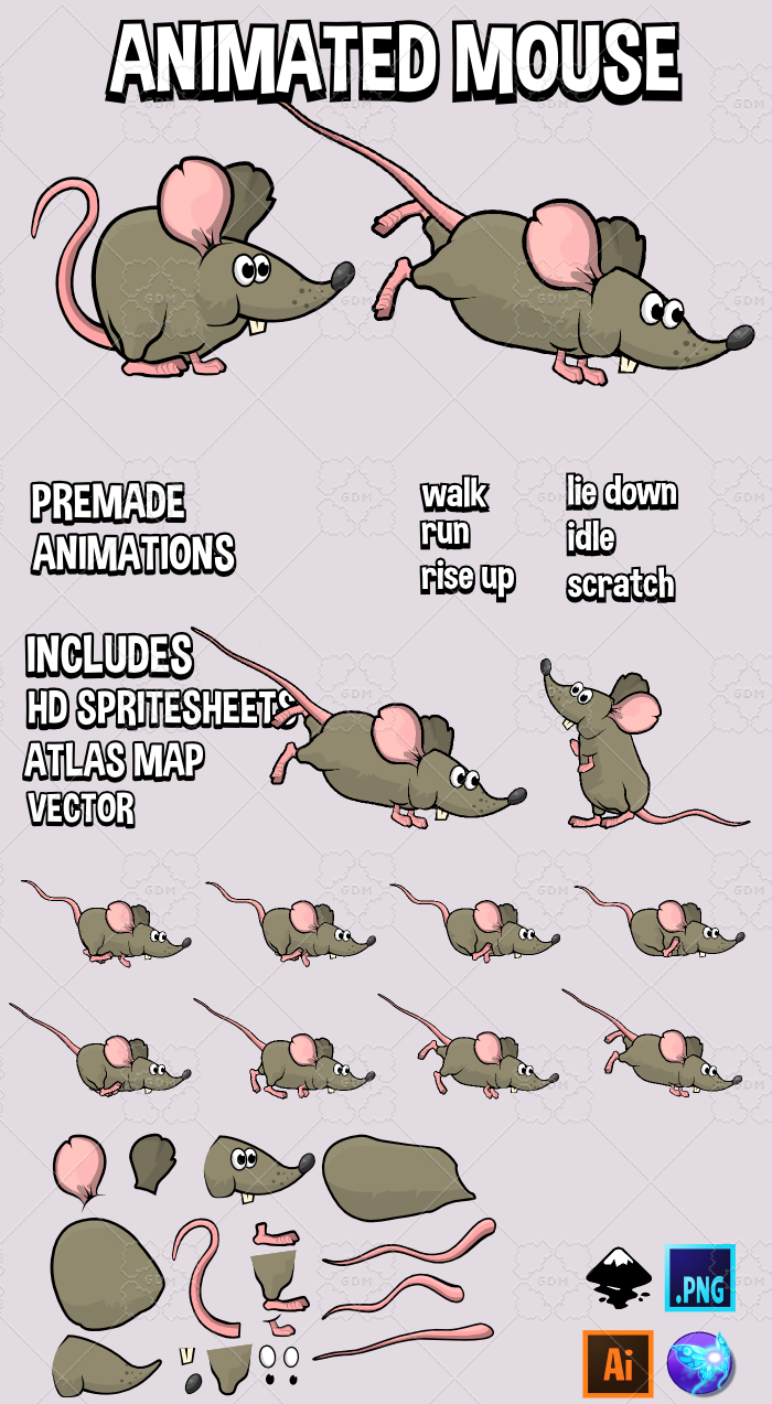 Animated Mouse