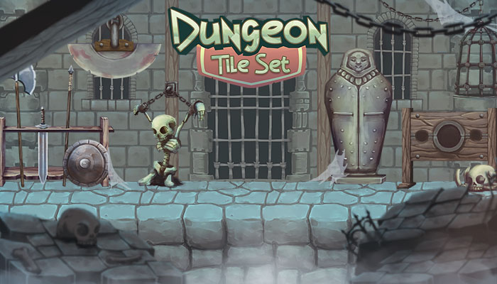 Dungeon Tile Set