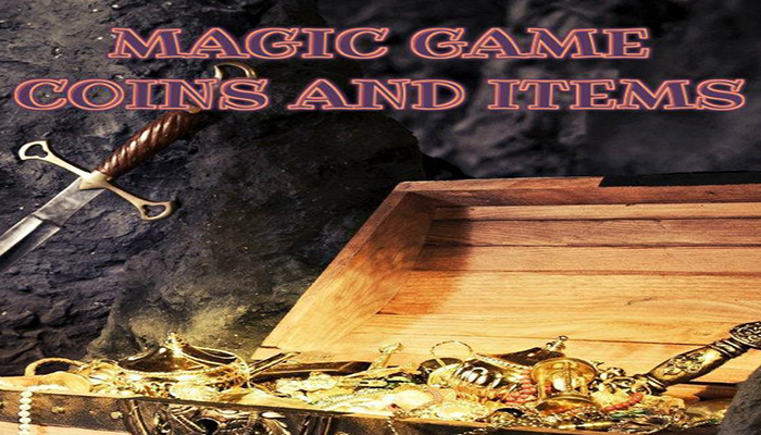 Magic Game Coins and Items