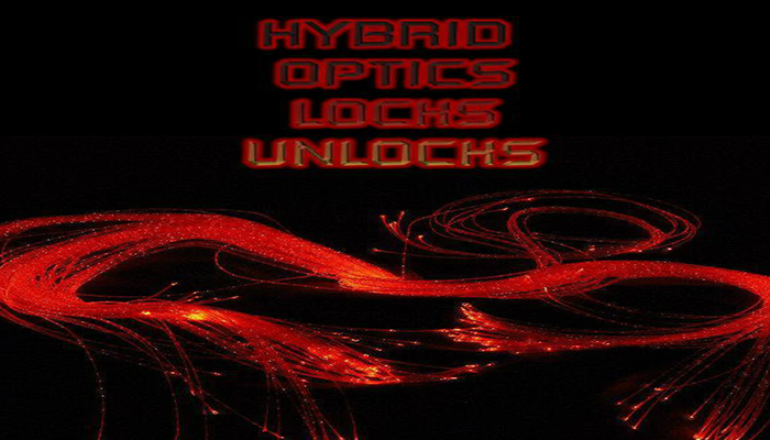 Hybrid Optics Locks Unlocks