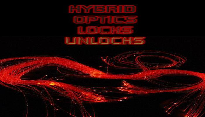 Hybrid Optics Locks Unlocks