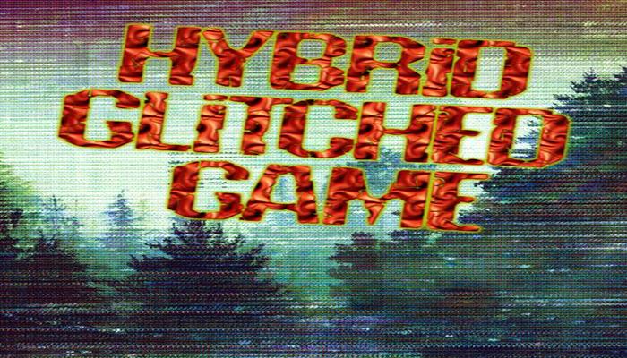 Hybrid Glitched Game