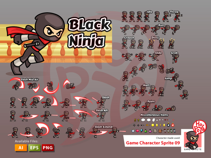Game Character Sprite 09