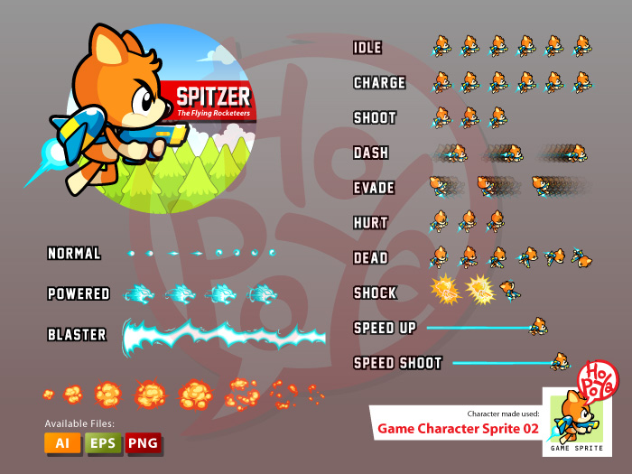 Game Character Sprite 02