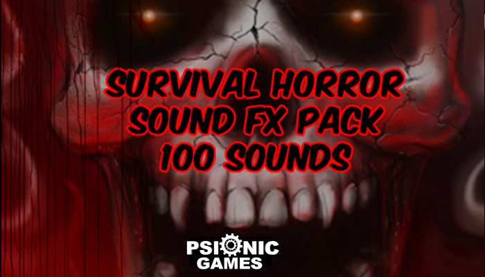 100 Survival Horror Sound FX