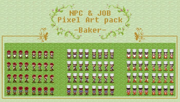 Baker NPC and Job