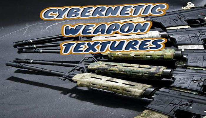 Cybernetic Weapon Textures