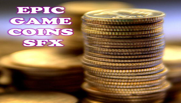 Epic Game Coins SFX