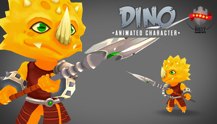 Dino 3D Animated Character