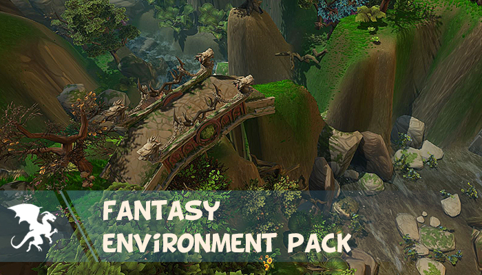Awesome fantasy environment pack