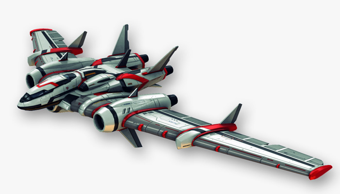 Fictional Aircraft – Flying Wing