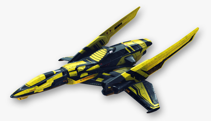 Fictional Aircraft – Cosmic Wasp