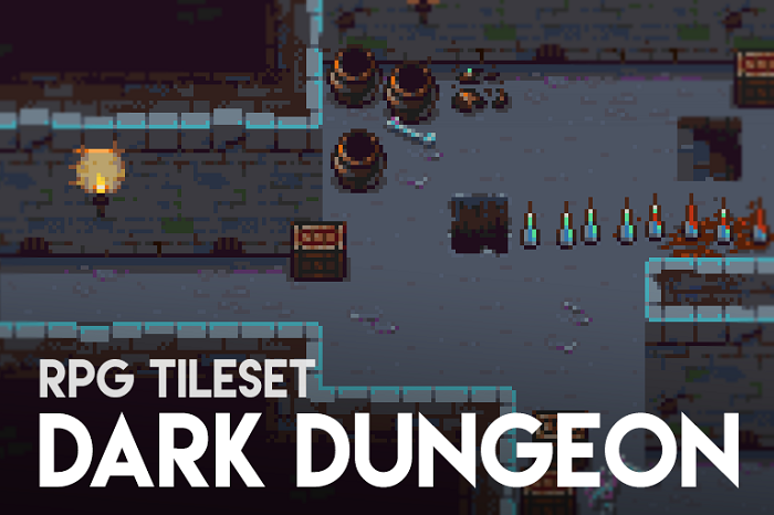 Dark Dungeon – RPG Tileset