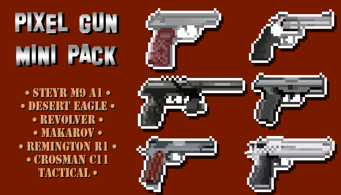 Pixel Guns Mini Pack