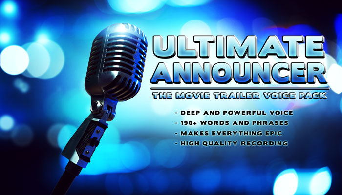 Ultimate Announcer – Voice pack