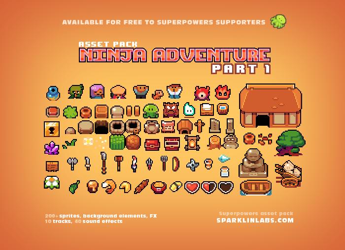 Ninja Adventure – 1-2