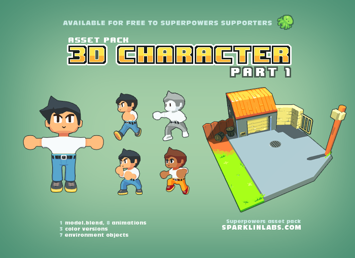 3D Character – 1