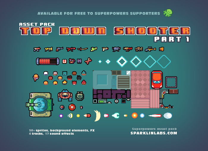 Top Down Shooter – 1